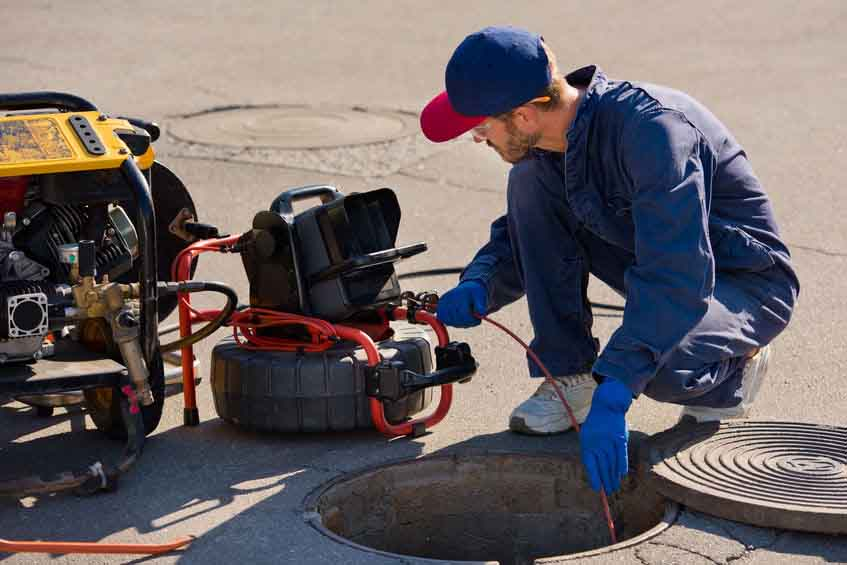 sewer camera inspection services in St. Louis, MO